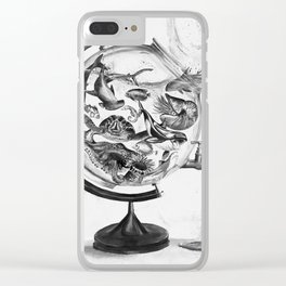 The Spill Clear iPhone Case