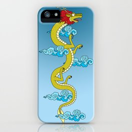 Dragon of the Himalayas iPhone Case