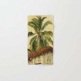 Palm Trees and Housetops, Ecuador - Frederic Edwin Church Hand & Bath Towel