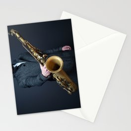 saxophone Stationery Cards