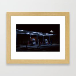 gasoline Framed Art Print