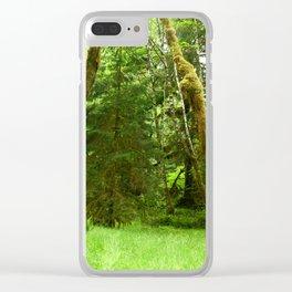 Lush Rain Forest Clear iPhone Case