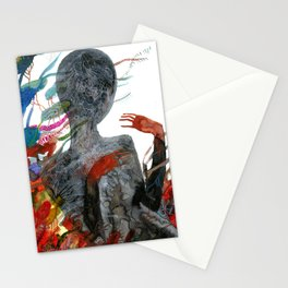 with my voice i'm calling you Stationery Cards