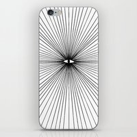 all seeing eye iPhone & iPod Skins featuring all seeing eye by Bunny Miele