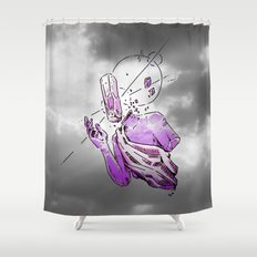 ▩ #RARE# CLOUDS ▩ Shower Curtain