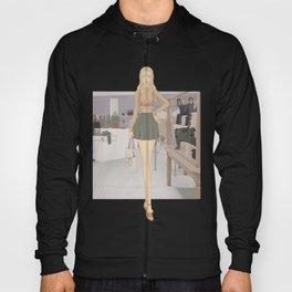 Stylized Signature Shopping Fashion Illustration A Hoody