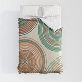 Fresh Hues Geo  Comforters