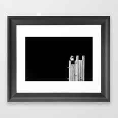Turn About Framed Art Print