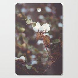 Cotton Flower 2 Cutting Board