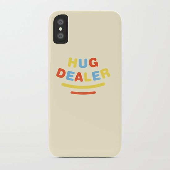 Hug Dealer iPhone Case