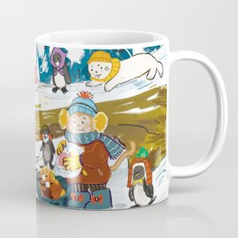 Winter Holiday S'morefest Coffee Mug