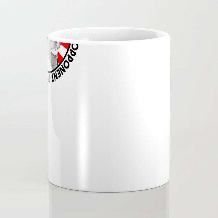 "Mr Miyagi said: ""It's ok to lose to opponent. It's never okay to lose to fear"" Coffee Mug"