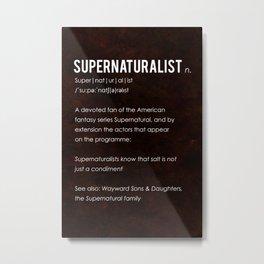 Supernaturalist Metal Print