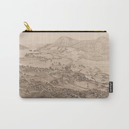 Ticonderoga Map 1884 (Sepia) Carry-All Pouch