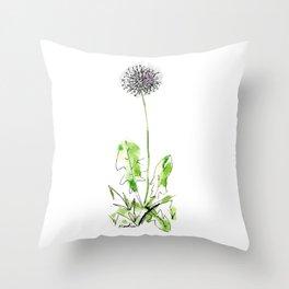 Dandelion Single Throw Pillow