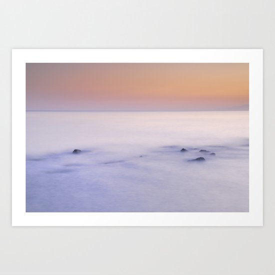 Dreaming between the islands Art Print