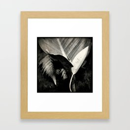 Fallen of da jungle Framed Art Print