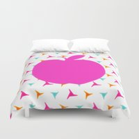 apple Duvet Covers featuring *Apple* by Mr and Mrs Quirynen