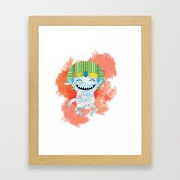 King KiKi Framed Art Print