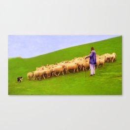 TEAMMATES Canvas Print