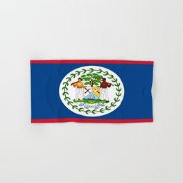 flag of belize-Belice, Belizean,Belize City,beliceno,Belmopan Hand & Bath Towel