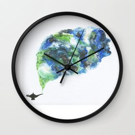 Come out, Genie! Wall Clock