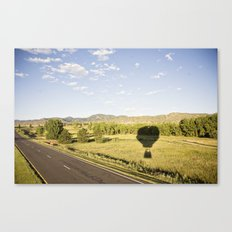 away we go::denver Canvas Print