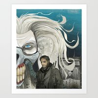 fury is the road less travelled... Art Print