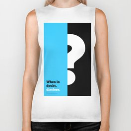 Lab No. 4 -When in doubt disclose N.r. Narayana Murthy Inspirational Corporate Startup Quotes Poster Biker Tank