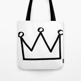 P&Ls: King Black Tote Bag