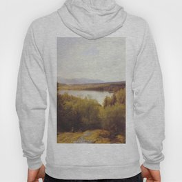 Hans Gude Painting -  Asterudtjernet Ringerike 1878  | Reproduction | Norwegian Art Hoody
