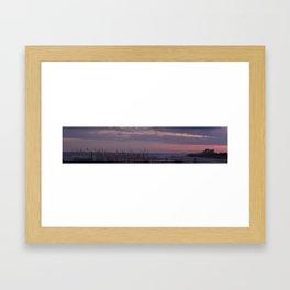 sunset 2 Framed Art Print
