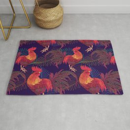 2017 Rooster year Rug