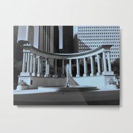 Millenium Monument. Metal Print