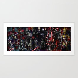 The Sith Lords Art Print