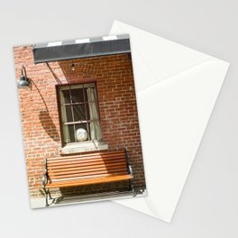 Afternoon Light Street Photography Stationery Cards