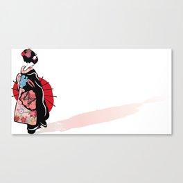 Geisha  Canvas Print