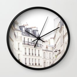 Slightly Paris Wall Clock