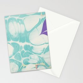 Marble 3 Stationery Cards