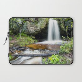 Scott Falls in Spring - Au Train Michigan Laptop Sleeve