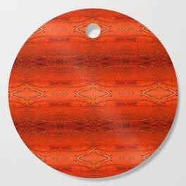 Rustic Orange Geometric Southwestern Pattern - Luxury - Comforter - Bedding - Throw Pillows - Rugs Cutting Board