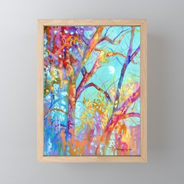 January Tree Framed Mini Art Print