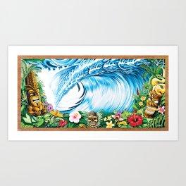 South Pacific Beast Art Print