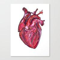 romance Canvas Prints featuring Romance by Adam McDade