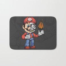 Super Mario Stipple Bath Mat