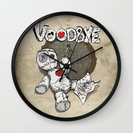 voodbye Wall Clock
