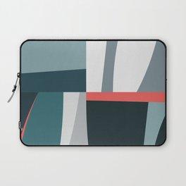 Organic Geometric 01 Blue Laptop Sleeve