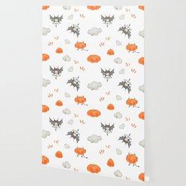 Flying little cute devil Wallpaper