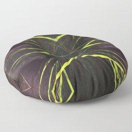 518 - Abstract grass design Floor Pillow