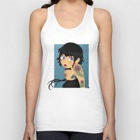 rockabilly Tank Tops featuring Rockabilly by Katherine Galo